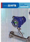 Kurz - Model 504FTB - In Line Flow Meter Brochure