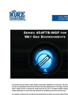 Kurz - Model 454FTB-WGF - Single-Point Insertion Flow Meter Sales Brochure