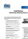 534FTB-CL2 - Inline Mass Flow Meter Technical Brochure
