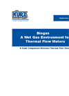 Biogas - A wet gas environment for thermal flow meters Application Brochure