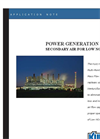 Coal Fired Boilers - Secondary Air for Low NOx Burners Application Brochure