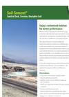 Soil-Sement - Control Dust, Erosion, Unstable Soil Datasheet