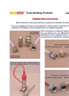 OILMISER™ Oil Maintenance Tools, Sampling Valves, and Accessories (PDF 140 KB)