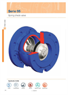 Model Series F5 - Spring Check Valve- Brochure