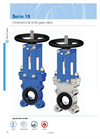 Model Series 19 - Unidirectional Knife Gate Valve Brochure