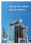 Körting non-metallic vacuum systems