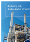 Dedusting with Körting Venturi scrubbers