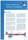 Design Features and Operation of Jet Ejectors
