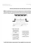 Manhole Measurement Sheet - Brochure