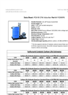 PCB-90 Pollution Control Barrel 90 CFM Adsorber - Sewer Odor Eliminator - Product Data Sheet