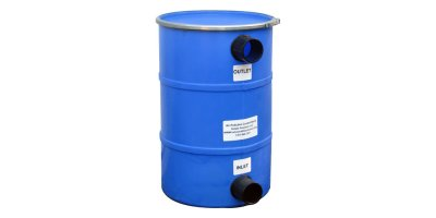 Model 50LB HDPE - Max 50 CFM Pollution Control Barrel For Lift Stations, Grease Traps & Mainline Vents