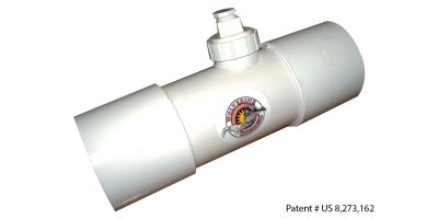 Model 4 (WVI-4) - Inline Septic Odor Vent Odor Filter