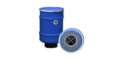 Wolverine - Model 40LB - Mega Pollution Control Barrel - Sewer Vent Odor Biofilter - 20CF Max