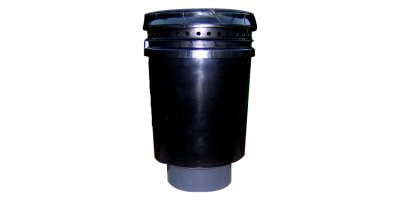 Wolverine - Model 20LB Mega - Pollution Control Barrel for Sewer Gas Odor- 20CFM Max