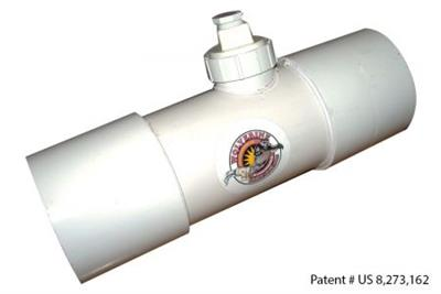Model 6 (WVI-6) - Inline Septic Vent Odor Carbon Filter