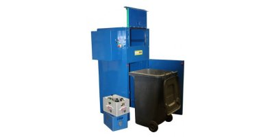 Baler Options - Model Eco Glass Crusher - Vertical Balers