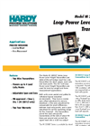 Model HI 2200LT Series - Loop Power Level Weight Transmitters Brochure