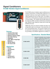 HI 5500 - Vibration Signal Conditioners Brochure
