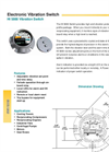 HI 5800 - Electronic Vibration Monitoring Switch Brochure
