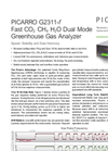 Analyzer for Fast CO2/CH4/H2O Measurements in Air G2311-f Brochure