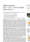 CRDS Analyzer for flight ready CO2/CH4/H2O G2301-m Brochure