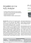 CRDS Analyzer for H2O2 G1114 Brochure