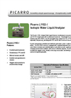 Analyzer for Isotopic Water Liquid datasheet