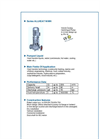 ALLHEAT - Series NIWH - Volute Casing Centrifugal Pump - Brochure