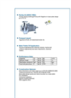 ALLMAG - Series CMAL - Volute Casing Centrifugal Pump - Brochure