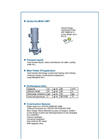 ALLMAG - Series CMIT - Volute Casing Centrifugal Pump - Brochure