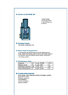 ALLMARINE - Series MA - Volute Casing Centrifugal Pump - Brochure