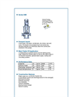 ALLMARINE - Series NIM - Volute Casing Centrifugal Pump - Brochure