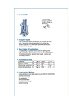 ALLMARINE - Series NAM - Volute Casing Centrifugal Pump - Brochure