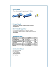 Series CFHM Three Spindle Medium Pressure Screw Pumps Brochure