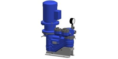 ALLFUEL - Three Screw Pump for Moving Oils and Other Lubricating Liquids