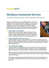 Workplace Assessments Services Brochure