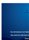 The Differences Between the Willowstick Method and DC Resistivity Brochure