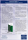 DIGESTMIX Efficient Mixing and Heating System for Digesters Brochure
