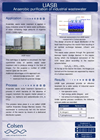 UASB Anaerobic Waste Water Treatment and Biogas Production Brochure