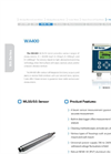 WESS - Model WA400 - Water Quality Analyzer - Brochure
