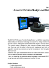ENV 100 Series Ultrasonic Portable Sludge Level Meter Brochure
