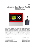 FLO200 Series Ultrasonic Open Channel Flow Meter Brochure