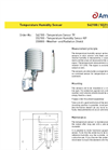 Datasheet: Temperature Humidity Sensor