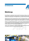 Metallurgy Brochure