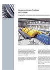 Siemens - SST-9000 - Steam Turbine for Double Flow High-Pressure (S) Cylinder Brochure