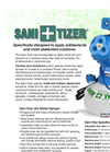 Sani-Tizer - Model ULV - Mister/Sprayer - Brochure