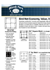 Nixalite - Bird-Net Knotted Bird Netting - Brochure