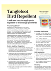 Nixalite Tanglefoot - Paste Bird Repellent - Brochure