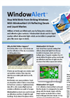 WindowAlert - UV - Reflective Decals & Liquid Brochure