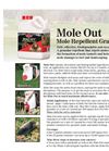 Nixalite - Mole Out Mole Repellent Granules - Brochure